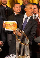 2016 World Series Champion Chicago Cubs Visit The White House