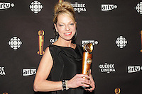 March 17,  2013 File Photo - Carmen Allie<br /> <br /> attend the 2013 Jutras Gala