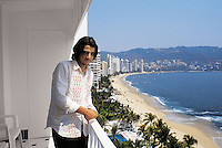 Actor Diego Luna spending a day in Acapulco for a photo shoot. 07-02