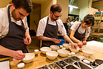 White Aspargus, Touches of Spring, Matchmaker Supper Club at Castagna Restaurant, Portland, OR featuring pottery by Careen Stoll, Lilith Rockett and Lindsay Oesterritter.  Food prepared by chefs Justin Woodward and Ryan Roadhouse.