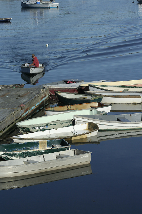 Cape Porpoise Boats parked