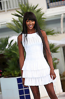 """Naomi Campbell attends the photocall for  """" The Face """" at Mipcom in Cannes - France"""