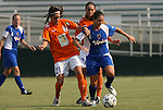03 July 2008: Carolina's Alison Baker (21) and Charlotte's Christina Murphy (6). The Charlotte Lady Eagles defeated the Carolina Railhawks Women 3-0 at WakeMed Stadium in Cary, NC in a 2008 United Soccer League W-League regular season game.