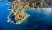Cap Tâdu (Tonnedu), baie de Poco Mié (Pourina) et baie de Ouinné, côte oubliée, Nouvelle-Calédonie