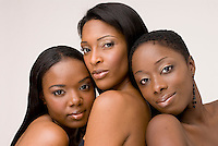 Beauty photo of African American women