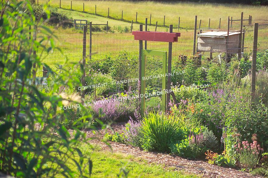 Df001026 kitchen garden for Kitchen garden fence