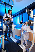 Institute of Montescano IRCCS Maugeri Foundation enters rehabilitation robot: the most advanced technology comes the Lokomat for patients suffering from stroke, head trauma or spinal cord injury, but also for patients with chronic pain and sports.