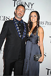 Trey Parker and wife Emma Sugiyama attends th 66th Annual Tony Awards on June 10, 2012 at The Beacon Theatre in New York City.