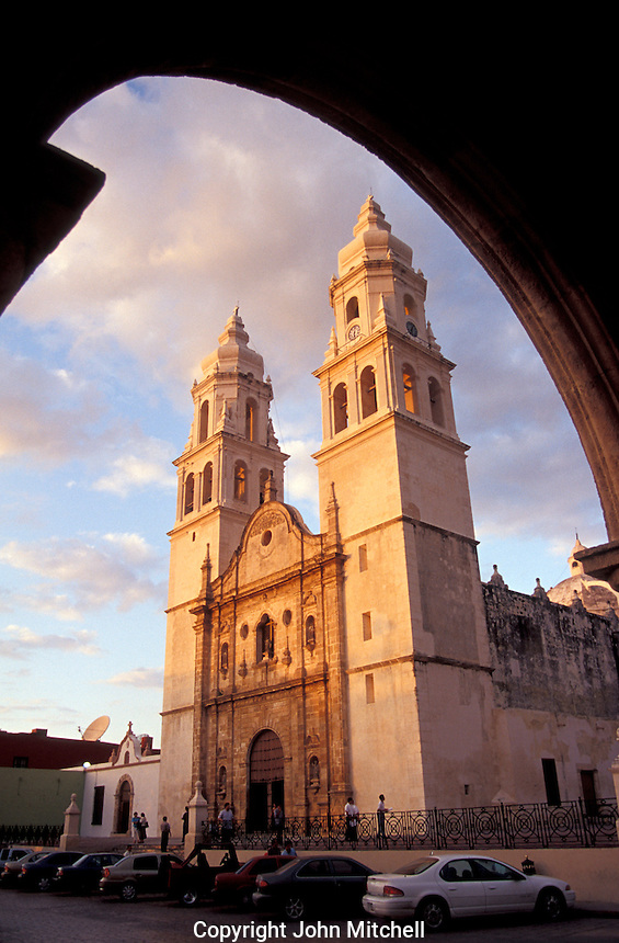 Stock Photo of Campeche, Mexico  John Mitchell Stock ...