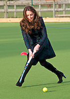 Kate, Duchess Of Cambridge attends St. Andrews School - UK