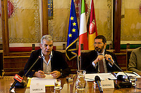 Roma - Conferenza stampa sul rilancio del progetto dei Punti Verde Qualita'