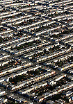 October 10, 2004; San Francisco, CA, USA; Aerial view of homes in the Sunset district of San Francisco, CA. Photo by: Phillip Carter