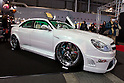 February 10, 2012, Osaka, Japan - A highly customized Subaru car is seen on display at the Osaka Auto Messe car show. This annual car dress-up and tuning motor show is held from February 10-12. (Photo by Christopher Jue/AFLO)