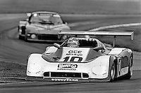 LEXINGTON, OH - AUGUST 26: Derek Bell drives the Mirage M-10/Gp6 during the  Lumbermens 500 North American Sports Car Championship at the Mid-Ohio Sports Car Course near Lexington, Ohio, on August 26, 1979.