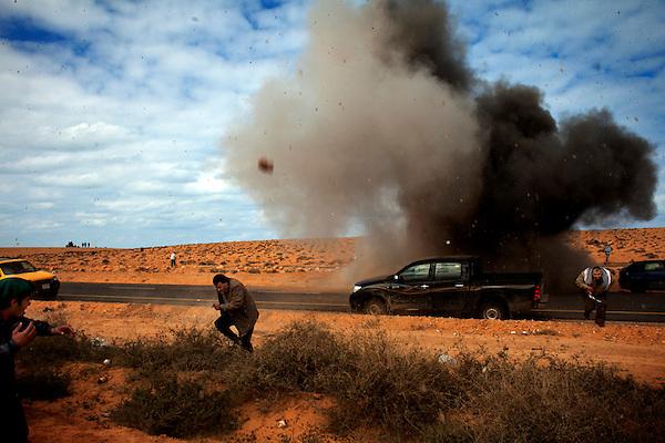 Attack Ras Lanuf, Libya