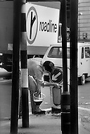 August 1981. Newcastle area, England. In Consett, more than 2 million people are unemployed, or 26%, in 1981.