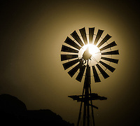 Windmill Moon - Arizona (Please note that due to the crop of this photo it can only be ordered in a square format on canvas or metal - no paper prints available - for example, a 16x16 on metal would be perfect for this photo - contact me for ordering)<br />