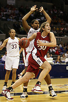 25 March 2006: Brooke Smith during Stanford's 88-74 win over the Oklahoma Sooners during the NCAA Women's Basketball tournament in San Antonio, TX.