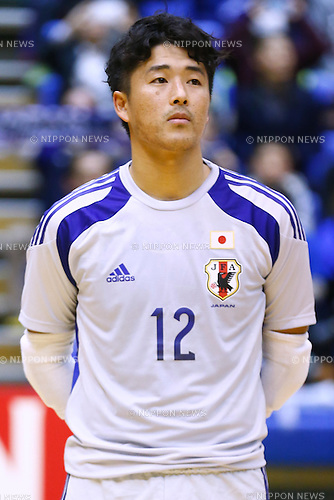 Jun Fujiwara (JPN), <br /> DECEMBER 18, 2014 - Futsal : International Friendly Match between Japan 1-1 Croatia at Komazawa gymnasium, Tokyo, Japan. (Photo by AFLO SPORT) [1180]