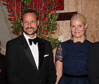 The Norwegian Royal Family attend the Nobel Banquet 2012 - Oslo