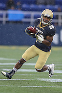 Annapolis, MD - October 8, 2016: Navy Midshipmen running back Darryl Bonner (29) runs the ball during game between Houston and Navy at  Navy-Marine Corps Memorial Stadium in Annapolis, MD.   (Photo by Elliott Brown/Media Images International)