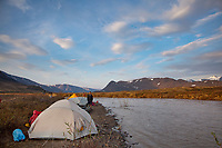 Nigu river, Brooks range mountains, Gates of the Arctic National Park, Alaska.