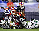 3 December 2009: Buffalo Bills' running back Fred Jackson in action against the New York Jets at the Rogers Centre in Toronto, Ontario, Canada. The Bills fell to the Jets 19-13. Mandatory Credit: Ed Wolfstein Photo