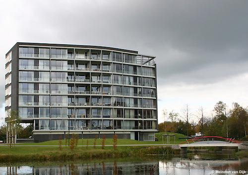 Drachten, 26 okt. 2004. Nieuwbouw Fabriciuslaan.