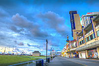 Atlantic City; House of Blues,  World-famous Boardwalk; Sand; Resort hotels; Architecture; New Jersey