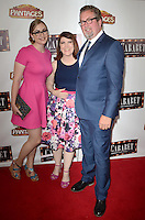 HOLLYWOOD, CA - JULY 20: Kate Flannery at the opening of 'Cabaret' at the Pantages Theatre on July 20, 2016 in Hollywood, California. Credit: David Edwards/MediaPunch