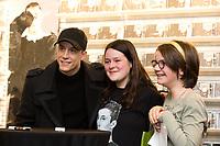 EXCLUSIF : Lo&iuml;c Nottet d&eacute;dicace son album &quot; Selfocracy &quot; &agrave; la Fnac Toison D'or &agrave; Bruxelles.<br /> Belgique, Bruxelles, 1er avril 2017.<br /> EXCLUSIVE : Belgian singer Lo&iuml;c Nottet signs his new album ' Selfocracy ' at the Fnac Toison D'or in Brussels.<br /> Belgium, Brussels, April 1st , 2017