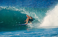 Cheyne Horan (AUS)surfing Kirra during the swell generated from Cyclone Betsy. Betsy is considered one of the best cyclone swells in the past 20 years. Kirra Point, Coolangatta, Queensland, Australia. circa 1992. Photo: joliphotos.com