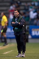 TAB RAMOS PUEBLA -Mexico, March 1, 2013: The U.S. Under-20 Men's National Team advanced to the title match of the 2013 CONCACAF U-20 Championship with a 2-0 victory against Cuba at Estadio Cuauhtémoc. Mario Rodriguez and Daniel Cuevas scored three minutes apart and Cody Cropper recorded his second shutout of the tournament in putting the U.S. through to the final.