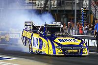Jun 17, 2016; Bristol, TN, USA; NHRA funny car driver Ron Capps during qualifying for the Thunder Valley Nationals at Bristol Dragway. Mandatory Credit: Mark J. Rebilas-USA TODAY Sports