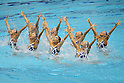 Japan National team (JPN), JULY 9, 2011 - Synchronized Swimming : Synchronized Swimming Japan National team perform during the team free routine Exhibition at Tatsumi International pool in Tokyo, Japan. (Photo by Yusuke Nakanishi/AFLO SPORT) [1090]