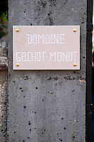 stone sign domaine gachot-monot nuits-st-georges cote de nuits burgundy france
