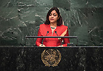 MALDIVES<br /> Her Excellency Dunya MAUMOONMinister for Foreign Affairs<br /> GA 28th plenary meeting
