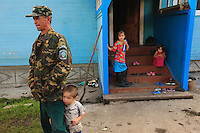 A rural population, the Bashkirs have many children, trusting in the protection of the God of Islam.