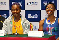 Diamond league Press Conf. Shanghai, China. May 22, 2010