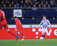VOETBAL: HEERENVEEN: 06-02-16, Abe Lenstra Stadion, SC Heerenveen - FC Twente, uitslag 1-3, Arber Zeneli, ©foto Martin de Jong