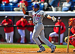 4 March 2009: New York Mets' third baseman Fernando Tatis in action during a Spring Training game against the Washington Nationals at Space Coast Stadium in Viera, Florida. The Nationals rallied to defeat the Mets 6-4 . Mandatory Photo Credit: Ed Wolfstein Photo