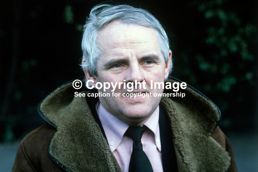 Tom Kiernan, coach, Irish rugby team, 198101240010..Copyright Image from Victor - Kiernan-Tom-198101240010