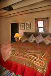 North America, USA, New Mexico, Santa Fe. Room in suite at Inn of Five Graces 2