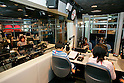 "KIDZANIA TOKYO, ""Edutainment City"",.children DJing at the 81.3 FM J-WAVE radio studios."