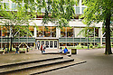 Portland State University campus in downtown Portland, Oregon.