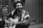"Steve Goodman, Sept. 3, 1978, Bread & Roses Festival. 55-23-22A.  American folk music singer-songwriter from Chicago, Illinois. The writer of ""City of New Orleans"", made popular by Arlo Guthrie, Goodman won two Grammy Awards."