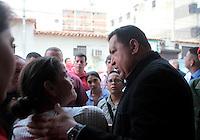 President Chavez announces his candidacy for Presidential - Venezuela