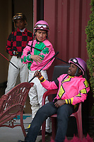 Emerald Downs, Horse Racing Stock Photos