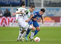 Fussball Bundesliga 2012/13: Hoffenheim - Wolfsburg
