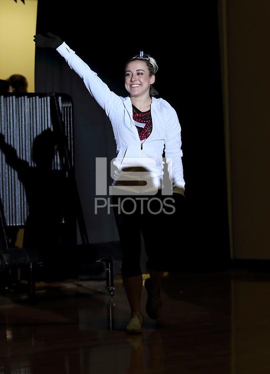 Stanford, CA; Monday March 2, 2015; Women's Gymnastics, Stanford vs Washington.